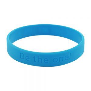 black rubber bracelets