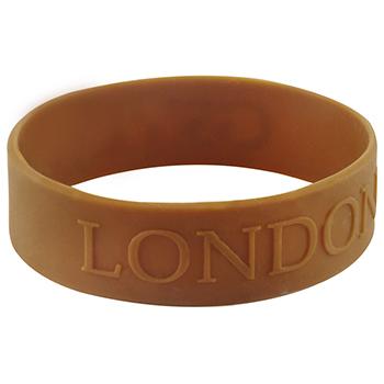 Embossed Bracelets-Solid-3/4 Inch
