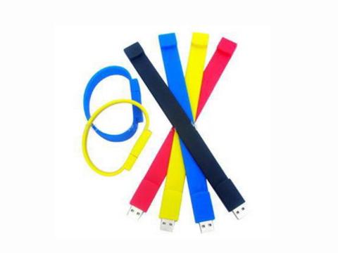 Silicone USB Bracelets-16G