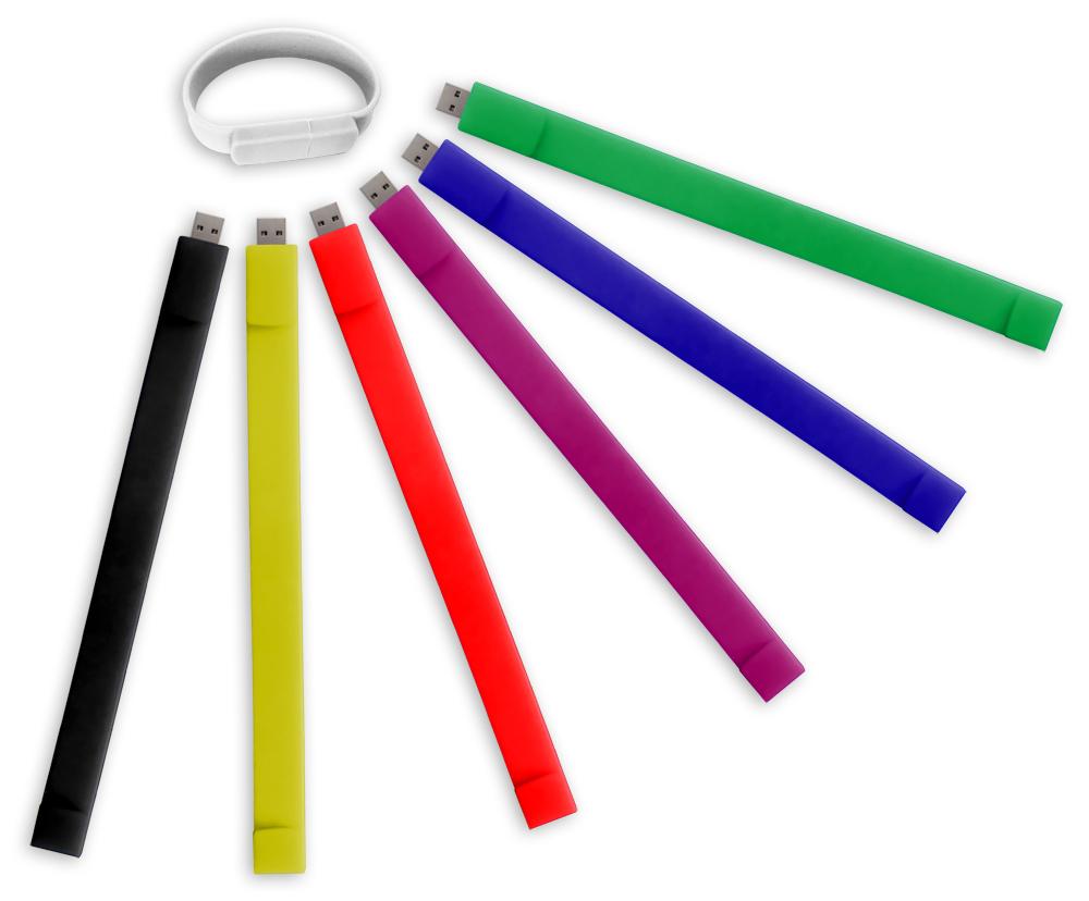 Silicone USB Bracelets-32G