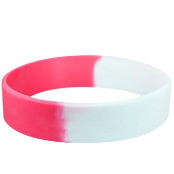 Custom Rubber Bracelets-Segmented-Blank-3/5 Inch
