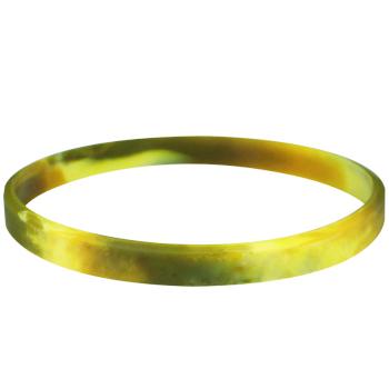 Blank Wristbands-Swirl-1/4 Inch