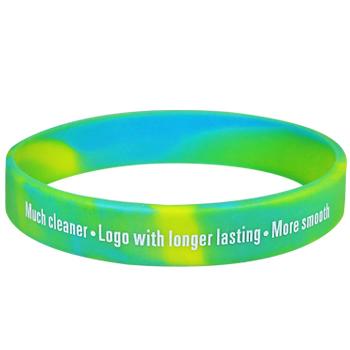 Custom Event Bracelets- Swirl – 1/2 Inch – Printed